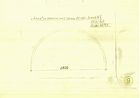 """""""Арка"""" из профильной трубы 50*20 R-900мм,L-3000мм"""