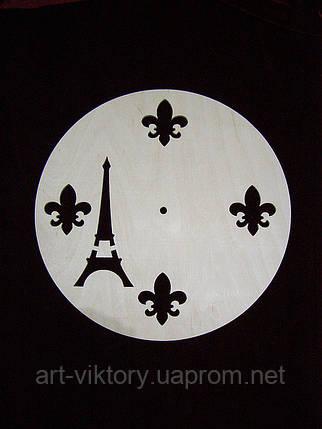 Круг с Эйфелевой башней, декор, фото 2