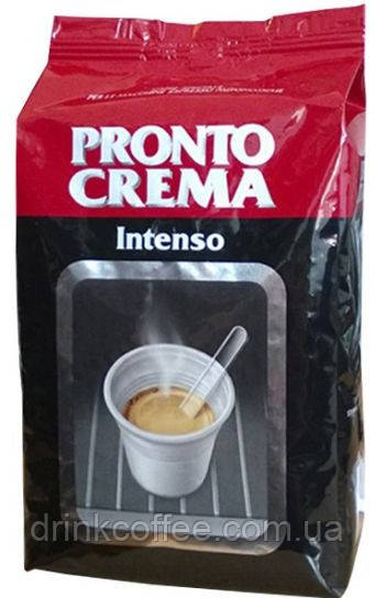 Кофе в зернах Lavazza Pronto Crema Intenso, 30% Арабика/70% Робуста, Италия, 1 кг