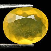 3.89CT Природный  желтый мексиканский опал