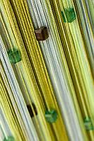 Кисея радуга со стеклярусом (125)