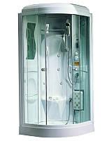 Гидробокс APOLLO TS-33W 95*95*220 мелкий поддон белый/прозрачное