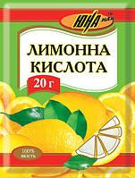 """Лимонная кислота 20г. ТМ """"ЮНА ПАК"""""""