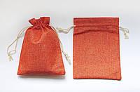 Мешочек для карт Таро цвет Терракот, джут
