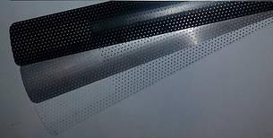 Жалюзи горизонтальные перфорированные белые,металик, фото 2
