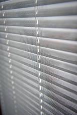 Жалюзи горизонтальные перфорированные белые,металик, фото 3
