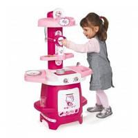 Игровая детская кухня Hello Kitty Cooky Smoby 24087