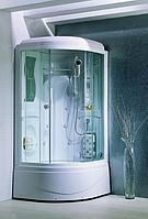 Гидробокс APOLLO TS-49W 95*95*220 глубокий поддон белый/прозрачное