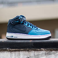 Кроссовки NIKE AIR FORCE 1 Mid Blue 41 размер