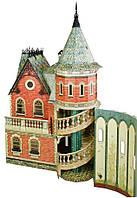 Картонная модель Кукольный Дом-3 343 Умная бумага