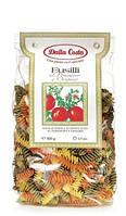 Итальянские цветные макароны спиральки Fusilli Dalla Costa  500 гр.