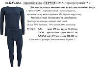 ТЕРМОБЕЛЬЕ для мужчин в Украине,182KAY-комплект теплый   стретч-флис+ширинка,в наличии черный 175 и 195 рост 175-XL