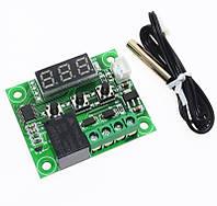 Терморегулятор с индикацией 12 В. -50…110 С, без настройки гестерезиса, фото 1