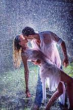 Набор алмазной мозаики Любовь под дождем