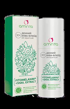 Денний аква-флюїд для обличчя amrita®, 50 мл