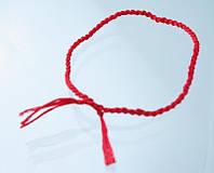 Красная нить Каббалы (от cглаза)