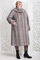 Женское зимнее пальто больших размеров (р. 60-76) арт. 524 Kappa Тон 116