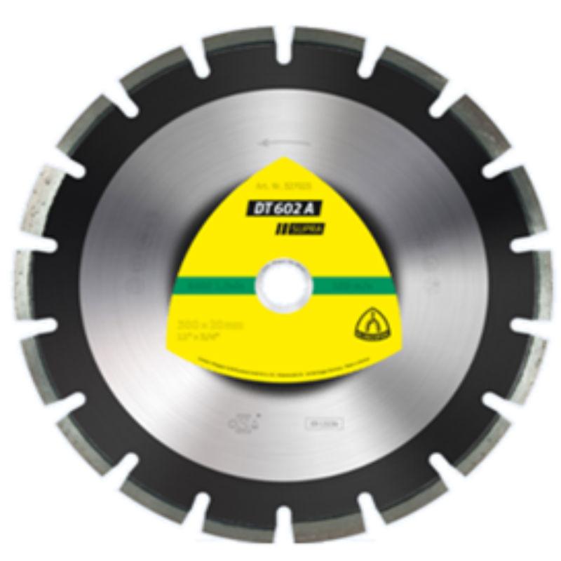 Алмазный отрезной круг Klingspor DT 602 A Supra 500x3,7x25,4/30w/10