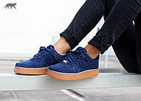 Женские кроссовки Nike Air Force 1 Low Suede – Midnight Navy