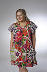 Платье-туника с карманами, ПЛ 10073 , по колено, интернет магазин женской одежды ,50,52,54,56, купить., фото 4