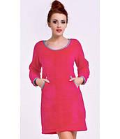 Ночная рубашка женская теплая DobraNocka 6087 XL, фото 1