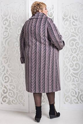 Женское зимнее пальто больших размеров (р. 60-76) арт. 524 Maila/1 Тон 52, фото 2