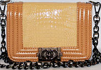 Женская сумка/клатч Chanel (беж), 46716