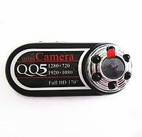 Мини камера QQ5 с датчиком движения и ночной съемкой