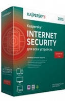 Kaspersky Internet Security 2015 1 год 2 пк BOX