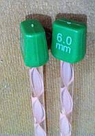 Спицы для вязания 6мм