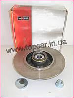 Тормозной диск задний на Renault Kango II 1.5 dCi 08-  Maxgear (Польша) 19-1974