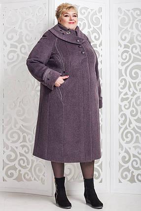 Женское зимнее пальто больших размеров (р. 60-76) арт. 524 Unito Тон 40, фото 2