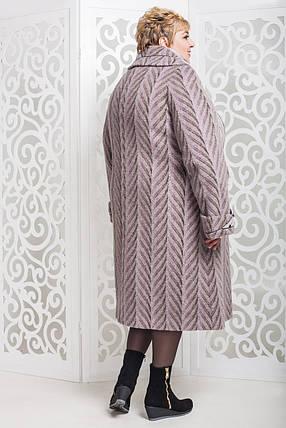 Женское зимнее пальто больших размеров (р. 60-76) арт. 524 Maila/1 Тон 64, фото 2