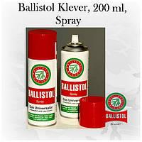 Оружейное масло Ballistol спрей, 200мл, Klever