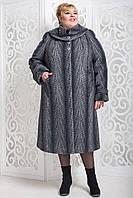 Женское зимнее пальто больших размеров (р. 60-76) арт. 524 Emme Тон 108