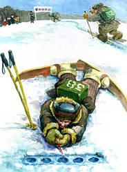 Зимова риболовля, полювання, зимовий туризм і активний відпочинок
