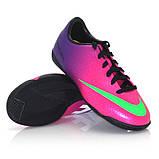 Детская футбольная обувь (футзалки) Nike Mercurial Victory IC Jnr (оригинал), фото 2