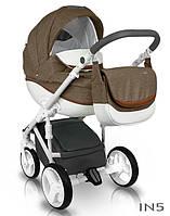 Коляска 2в1 Bexa Ideal New ненадувные колеса