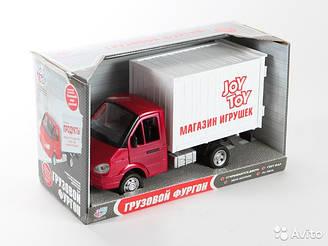 Машина инерционная музыкальная Газель 9077-F Магазин игрушек