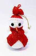 Ёлочная игрушка-Снеговик-10,0 см.-12 шт., фото 1