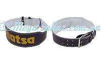 Пояс атлетический Matsa с подкладкой для спины: размер S-XXL, ширина 10см