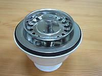 Вентиль без перелива c cеткой пробкой (диаметр 70 мм)