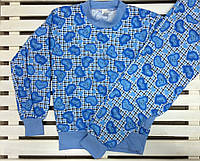 Пижама для девочки на байке рост 146