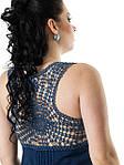 Платье женское «ХОЛОДОК» с кружевной вставкой, фото 2