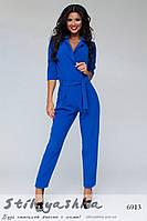 Женский модный комбинезон брюками индиго