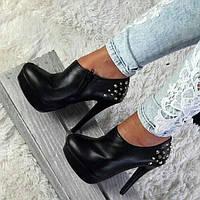 Туфлі жіночі 41 розмір чорні