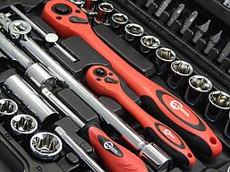 Набор инструментов Intertool ET-6108 (108 предметов), фото 3