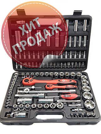 Набор инструментов Intertool ET-6108 (108 предметов), фото 2