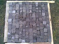 Брусчатка из камня черная