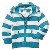 Детская вязанная кофта для мальчика  18, 24 месяца